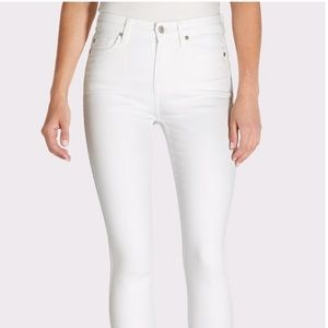 NWOT 7 for all Mankind high waist  Skinny Ankle
